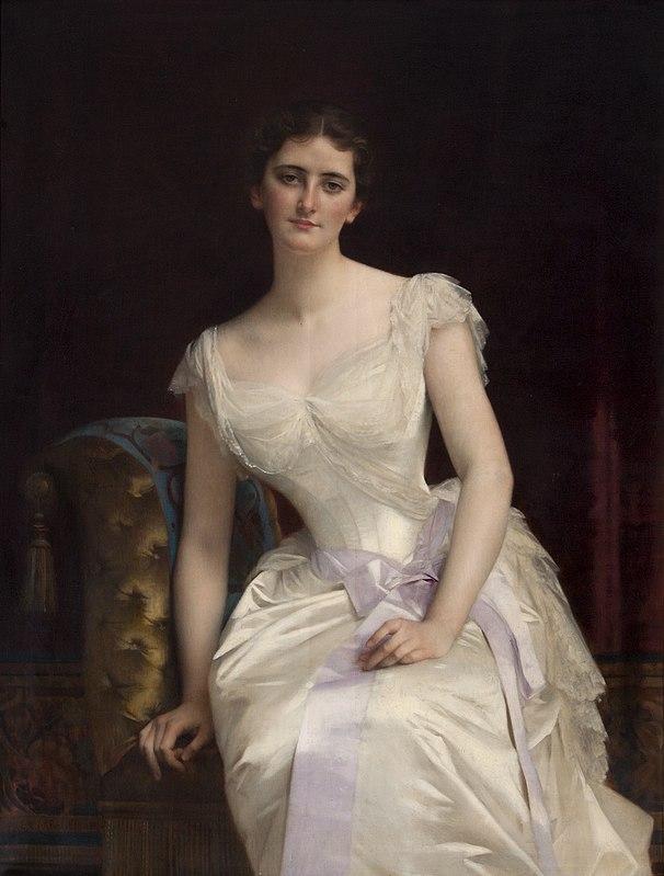 Mary Victoria Leiter 1887 Cabanel-C