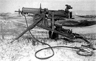 MG 08 *Heavy machine gun *Light machine gun (MG 08/15)
