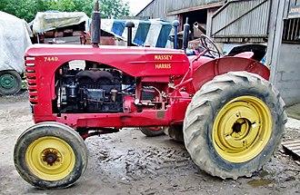 Ferguson-Brown Company - Massey Harris 744D tractor