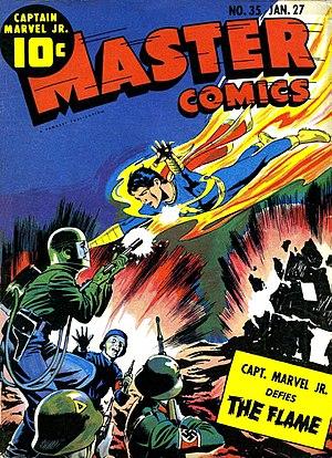 Swipe (comics) - Image: Master Comics 002