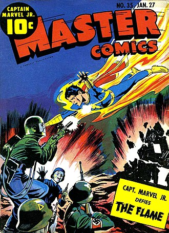 Captain Marvel Jr. - Image: Master Comics 002