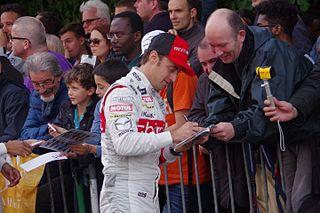 Mathias Beche racing driver, 2012-2016 World Endurance Championship driver, 2012 European Le Mans Series champion