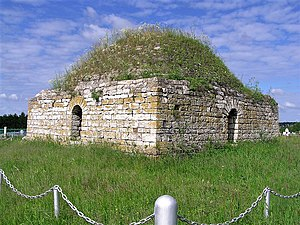 Bashkirs - Mausoleum of Husseinbek of the 14th century in Bashkortostan