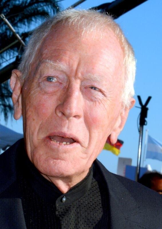 Max von Sydow Cannes 2013