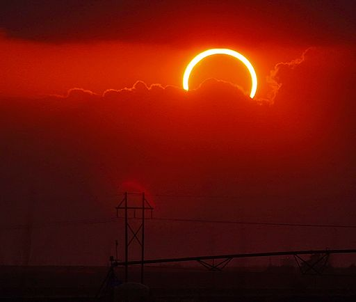 May 20, 2012 Eclipse, seen from Wolfforth, Texas, USA