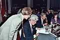 Me with Phil Donahue 1981 (4371325540).jpg