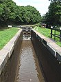Meaford Bottom Lock Empty, Trent and Mersey Canal - geograph.org.uk - 555624.jpg