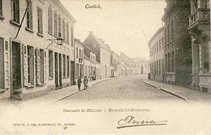 Kontich - Image: Mechelsesteenweg kontich
