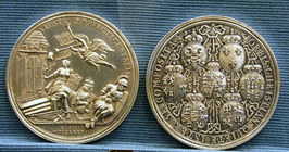 Medal commemorating 25th Anniversary of Treaty of Utrecht.png