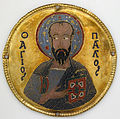 Medallion with Saint Paul from an Icon Frame.jpg