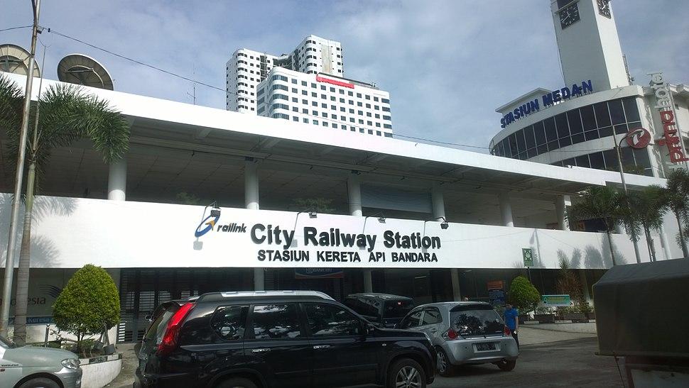 Medan railway station