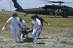Medical City Clark works shoulder-to-shoulder with US for patient evacuation 150418-F-LH638-150.jpg
