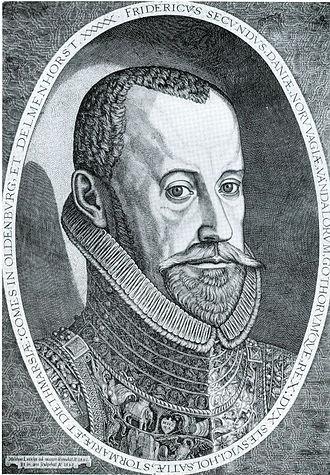Treaties of Roskilde (1568) - Image: Melchior Lorck Frederik 2
