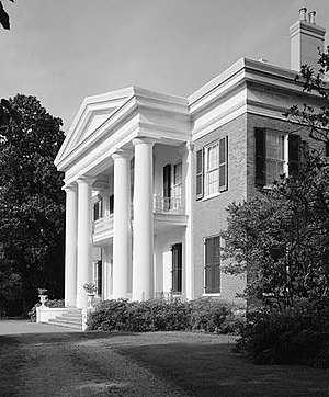 Natchez National Historical Park - Melrose, one of the sites preserved in the park