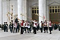 Members of the Military Brass Band of Tajikistan with Karnays.jpg