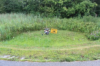Transportation safety in the United States - A memorial in the State of Michigan to person who died a in motorcycle accident