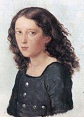 Felix Mendelssohn aged 12 (1821) by Carl Joseph Begas (Source: Wikimedia)