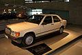 Mercedes-Benz 190E 1984 LSideFront MBMuse 9June2013 (14797028608).jpg