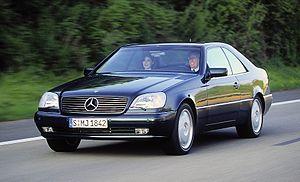 Mercedes-Benz W140 - 1996–1998 CL 500 (C140)