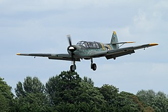 Mechelen incident - A Messerschmitt Bf.108, the type of aircraft that Erich Hoenmanns flew.