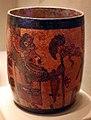 Messico, maya, vaso con divinità, 300-900 dc ca.jpg
