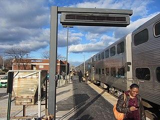 Waukegan station train station in Waukegan, Illinois