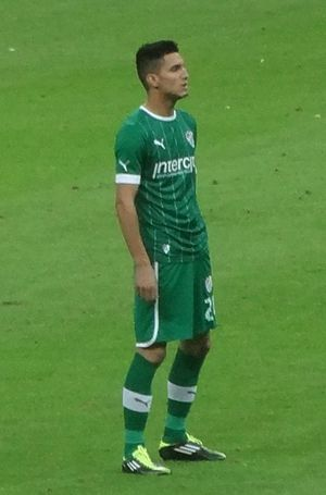 Michaël Chrétien Basser - Chrétien with Bursaspor in 2012