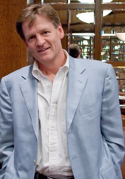 Picture of an author: Michael Lewis
