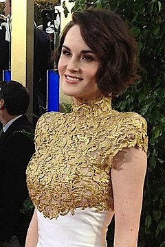 Michelle Dockery på Golden Globe-galan 2013.