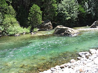 Middle Fork Kings River river in the United States of America