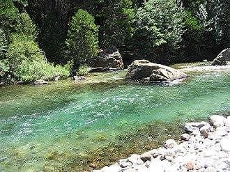 Middle Fork Kings River - Middle Fork at Tehipite Valley