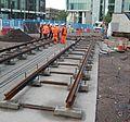 Midland Metro - track laying - Upper Bull Street - Birmingham 04.jpg