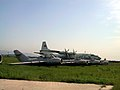 Mig-15 + Antonov An-12 B (Chinese Y-8) (36675960940).jpg