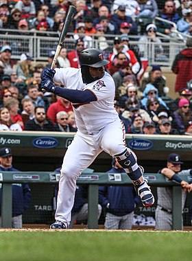 Miguel Sano - Minnesota Twins - Opening Day vs Seattle Mariners (41267535481).jpg
