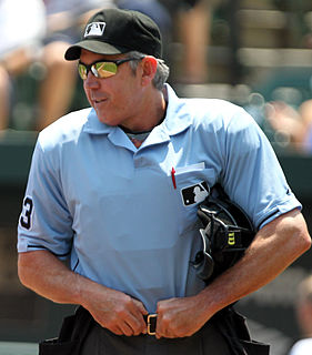 Mike Winters baseball umpire from the United States