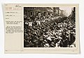 Military Operations - Convoys - Railroads - Farewell Scenes - Fighting 69th, now the 165th, leave armory for camp on first lap to France - NARA - 45503184.jpg