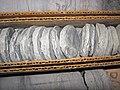 Millbrig Bentonite in limestone succession (Upper Ordovician, 454 Ma; Warren County core, Ohio, USA) 3.jpg