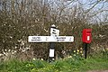 Minting fingerpost - geograph.org.uk - 390526.jpg