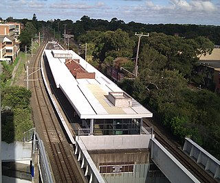 Miranda railway station Railway station in Sydney, New South Wales, Australia