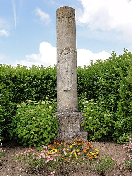 Missy-aux-Bois (Aisne) monument aux morts