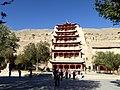 Mogao Caves Dunhuang Gansu China 敦煌 莫高窟 - panoramio (1).jpg