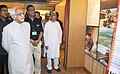 Mohd. Hamid Ansari going around after dedicating the Tripura State Museum, Ujjayanta Palace to the Nation, in Agartala, Tripura on September 25, 2013. The Chief Minister of Tripura, Shri Manik Sarkar is also seen.jpg