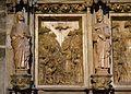 Moisés alça la serp de bronze en el desert, retaule de la capella del sant Calze, catedral de València.JPG