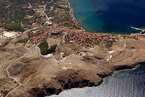 Mithymna - Aerial photo of Mithymna