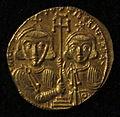 Monete d'oro di giustiniano II e tiberio IV, 705-711, 02, 9.jpg