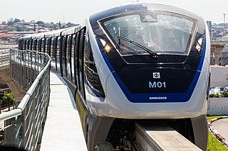 single-rail based transportation system