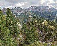 Mont de Sëura Chedul Pizes de Cir Pizes Cuecenes Sela Gherdëina.jpg