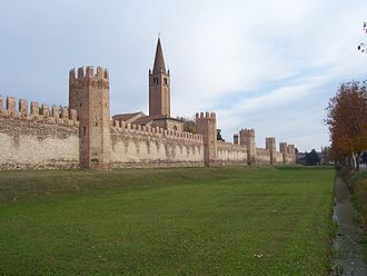 Province of Padua - The city walls of Montagnana.