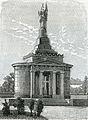 Montebello ossario dei caduti il 20 maggio 1859 xilografia di Barberis.jpg