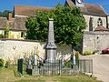 Montreuil-sur-Epte (95), monument aux morts, rue Saint-Denis.jpg
